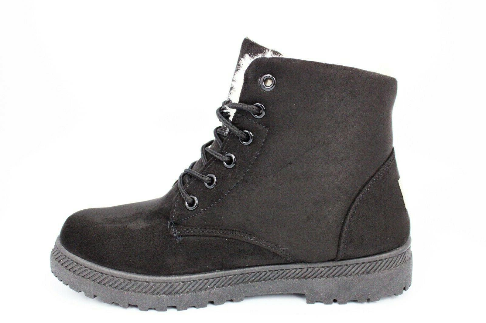 NOT100 Waterproof Boots Combat Booties, Black, 8.5