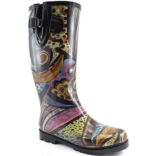 puddles rain snow boot multi