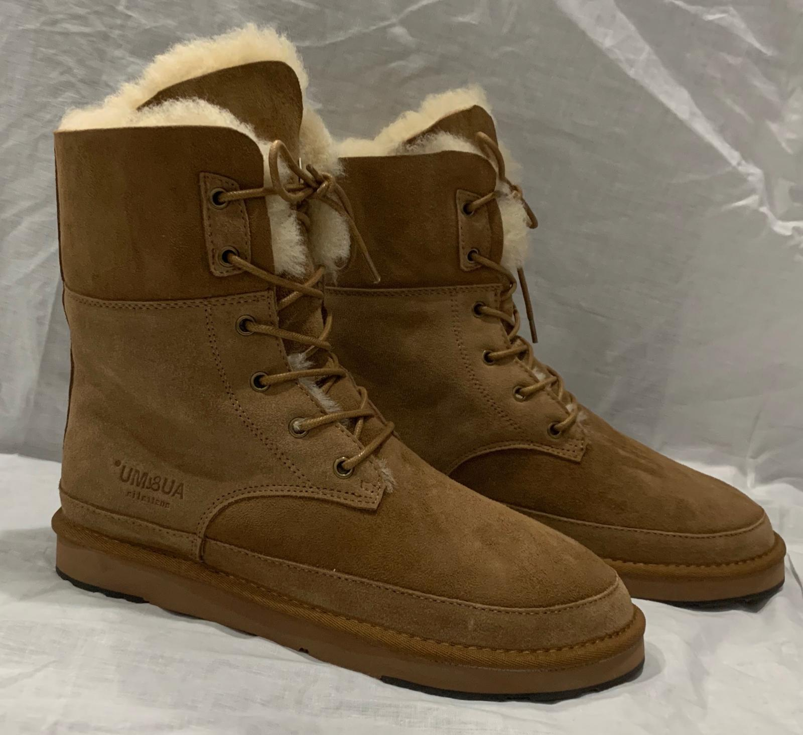 mu Women's Classic Hunter Snow Boots Chestnut Color SIZE 9