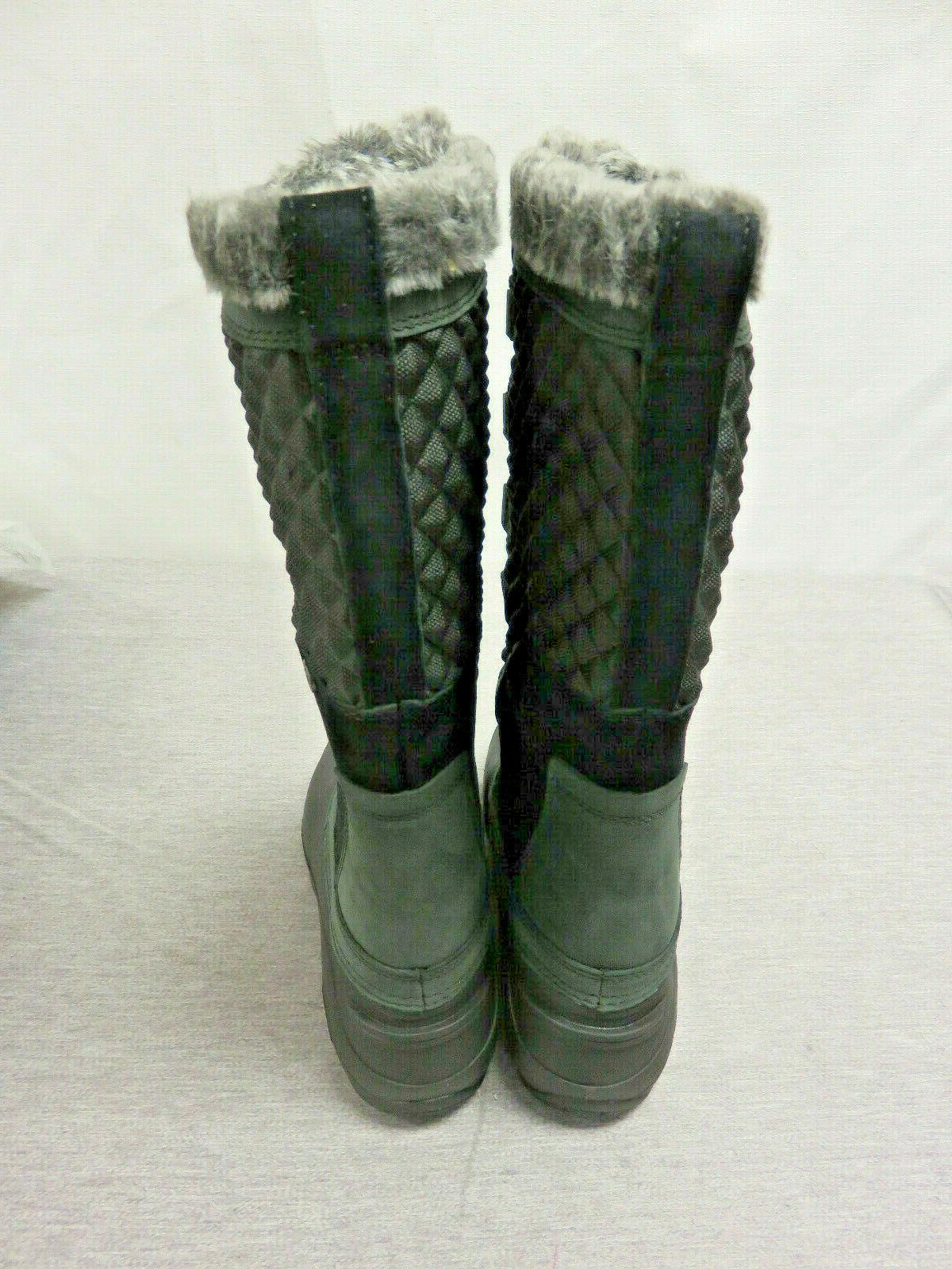 The Face III Black Winter Snow Boot 8 9 1/2