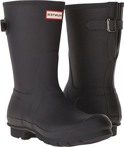 short back adjustable rain boots