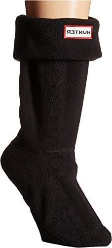 Hunter Women's Short Boot Socks Black Sock