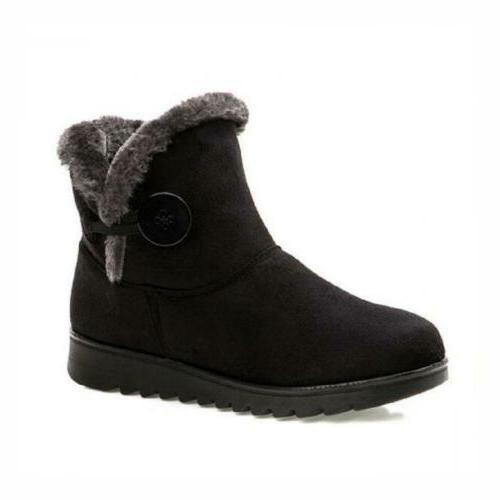 slduv7 fur lined womens snow boots winter