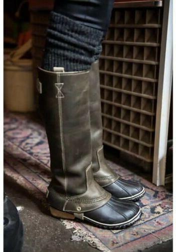 SOREL SLIMPACK TALL EQUESTRIAN Riding/Rain Snow Boots NORI G