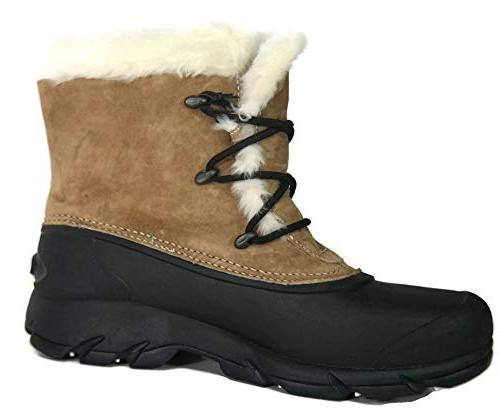 snow angel lace boot