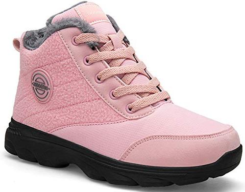 snow boots water resistant surface