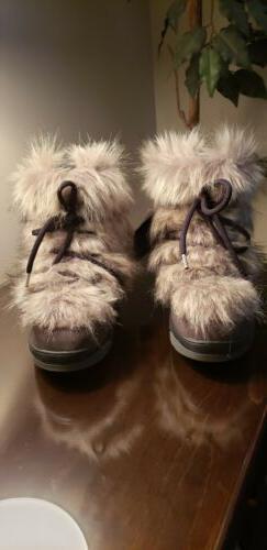 OSCAR SPORT WOMENS SHORT APRES SKI FUR WINTER SNOW WOMEN BOO