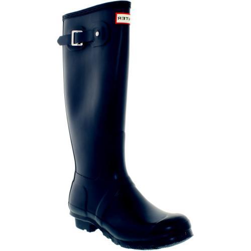 tall navy kneehigh rubber rain