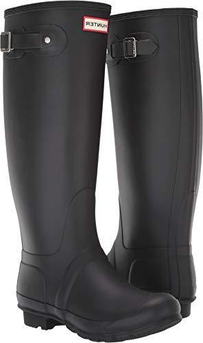 tall wide leg rain boots