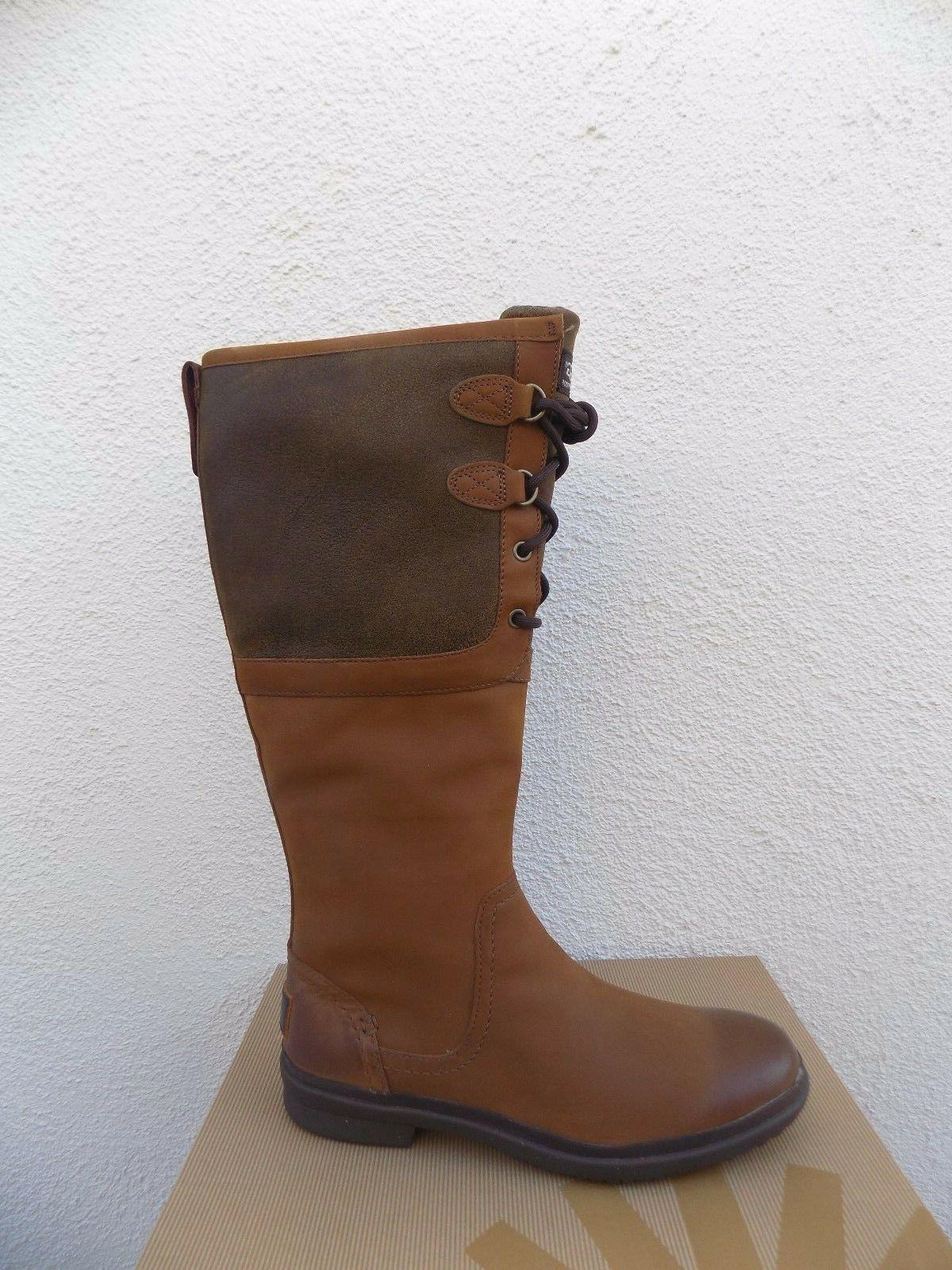 UGG WATERPROOF LEATHER BOOTS, US 37.5 NEW