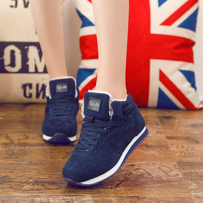 Unisex Plush Work Shoes Sneakers