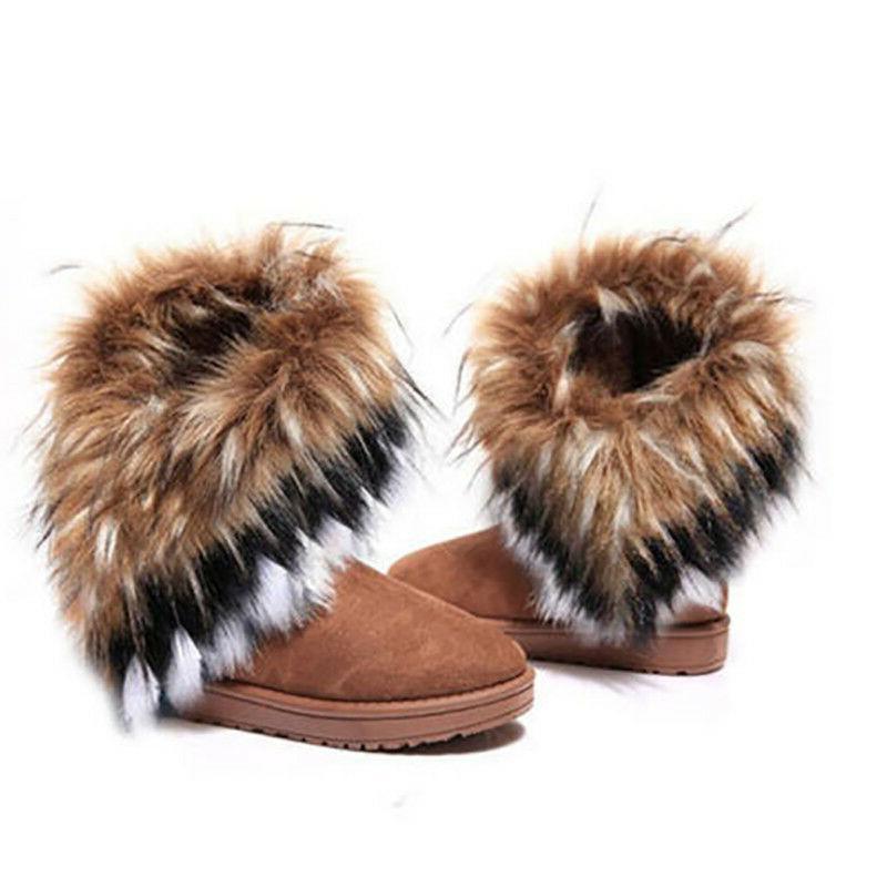US Casual Warm Suede Fur Short