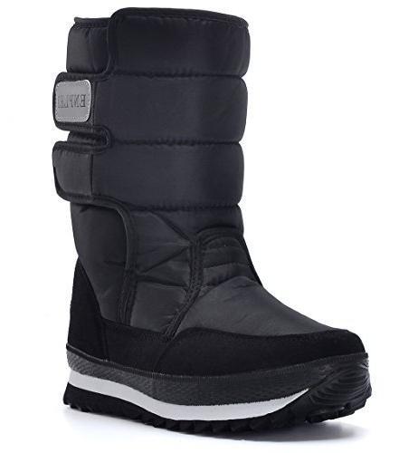DADAWEN Women's Waterproof Snow Size