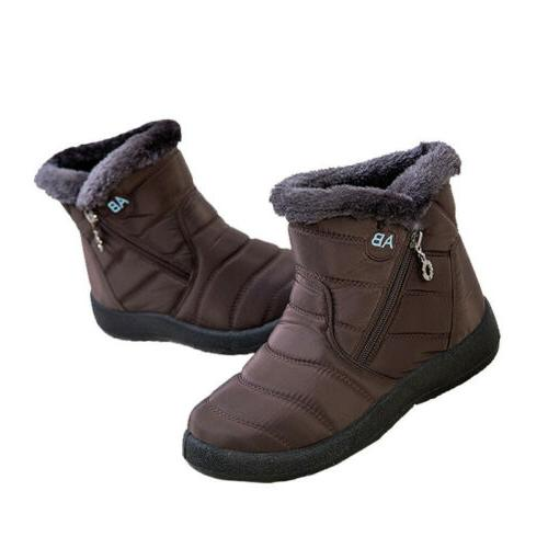 Snow Boots Fur-lined On US