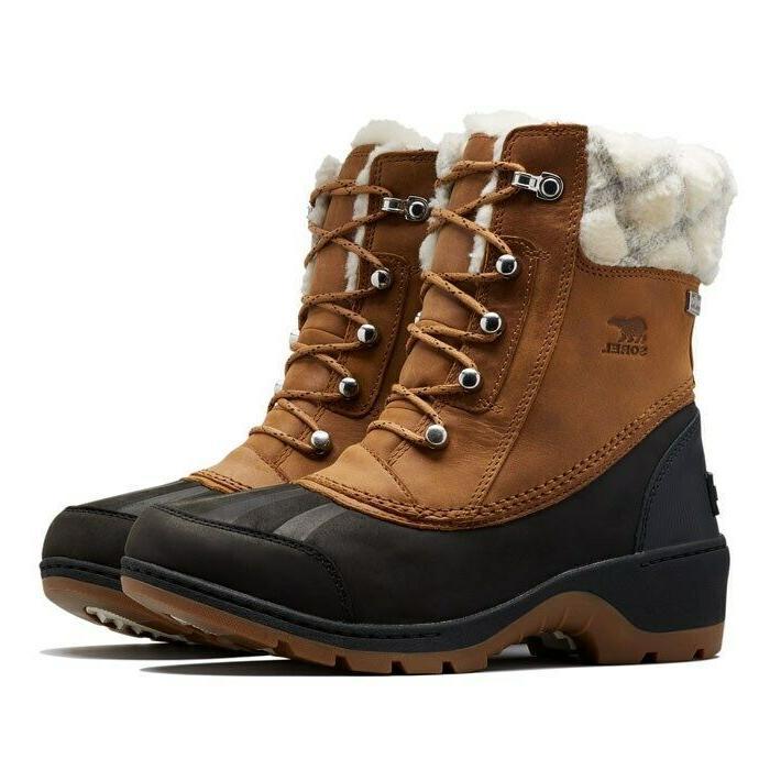 Sorel Women's Waterproof Snow Boots Brown Black US