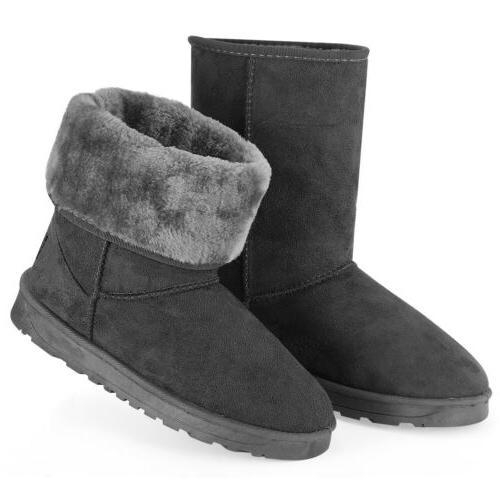Winter Boots Women Snow Suede 5-10