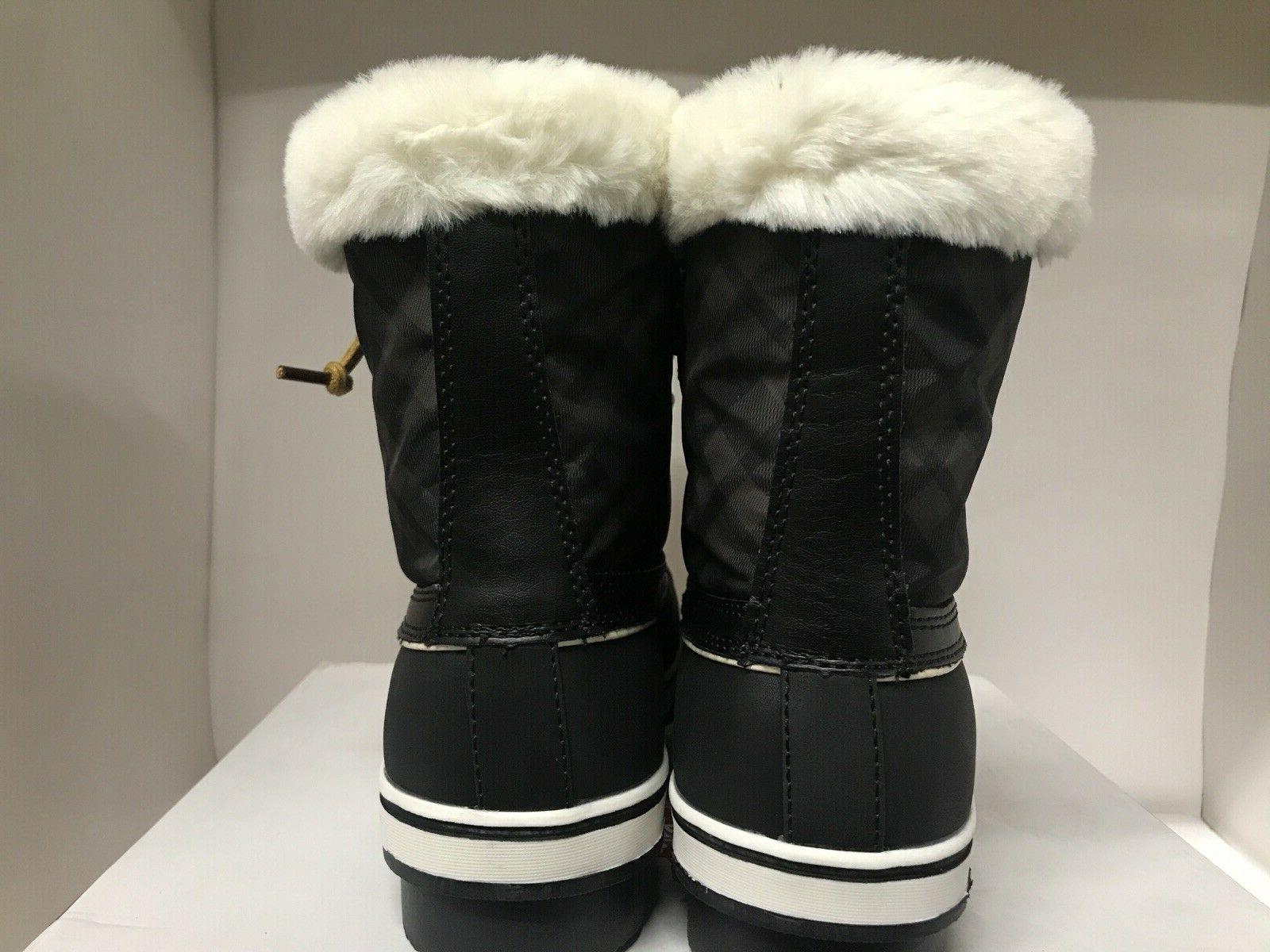 Globalwin Fur Lined Snow Boots Size 10