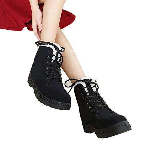 Lace Cotton Ankle Boots Sneaker
