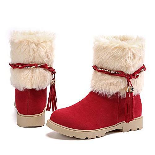 winter warm short booties casual