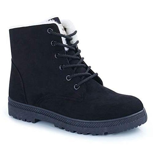 fantiny snow boots winter warm