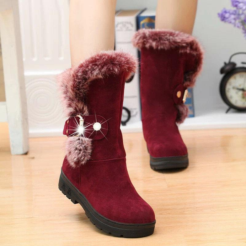 Winter Ladies Boots Shoes