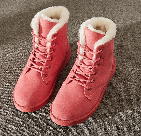 Up Boots Ankle Warm Shoes