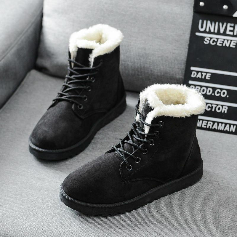 Winter Up Martin Boots Ankle Boots Warm