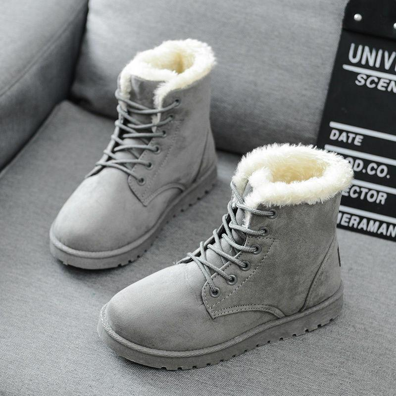 Winter Up Boots Snow Ankle Warm