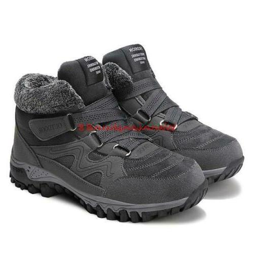Winter Snow Boots Warm Sneakers Hiking Shoes Plus Size