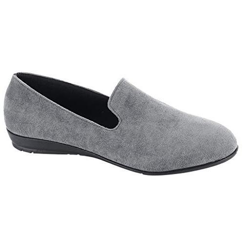 women comfortable office shoes slip on flat