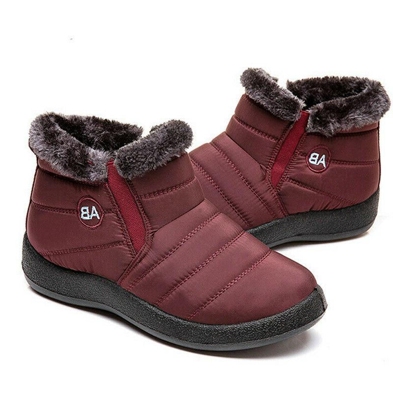 Women Winter Shoes Snow Slip Shoes Waterproof