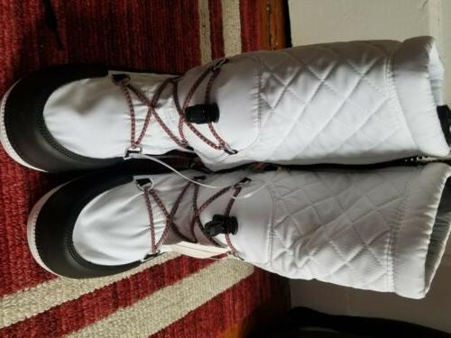 women original quilted mid calf snow boots