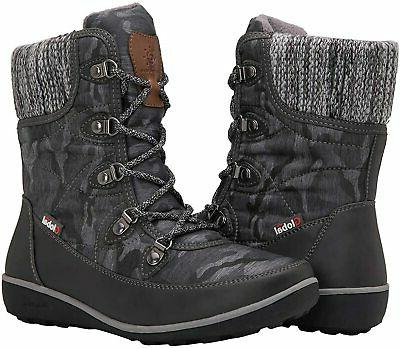 women s 1839 winter snow boots 1841grey