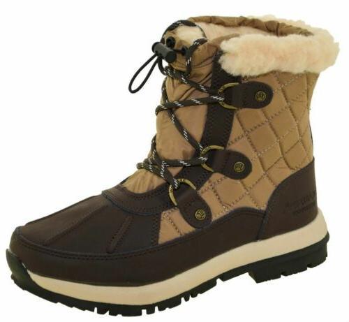 Bearpaw Women's Bethany Snow Boots Choco Style 1845W