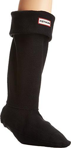 Hunter Hunter Women's Boot Socks, black, Medium