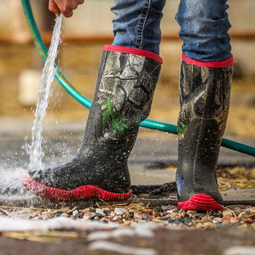 HISEA Women's Boots Rain Hunting Boots