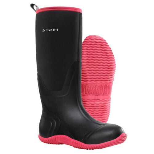 HISEA Women's BREATHABLE Boots Waterproof Snow & Rain