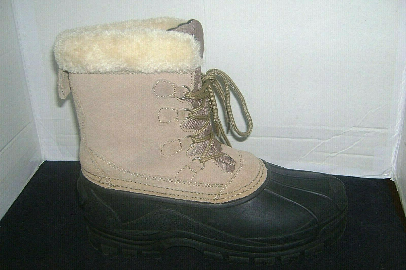 Itasca Snow Boots Size 9 Suede Winter