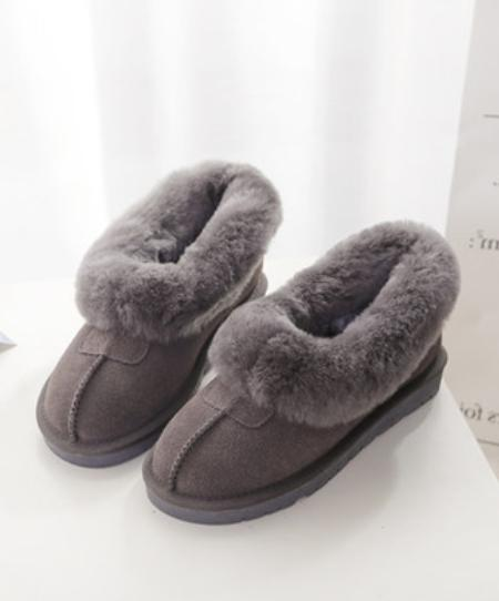 Women's Flats Pull Warm Booties Ankle Boots shoes