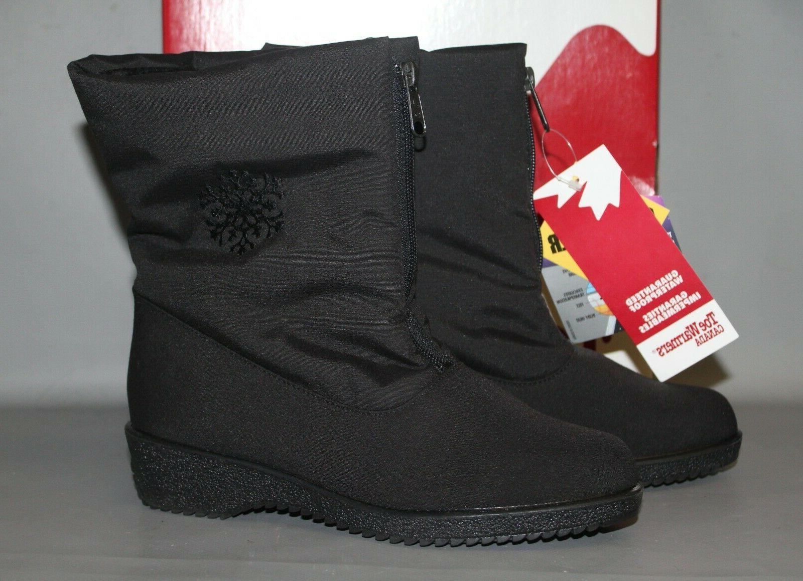 Women's #3633 Black Winter Boots