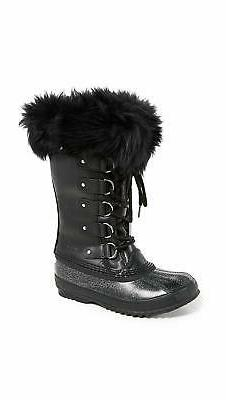 SOREL Women's Joan of Arctic Luxe Boots, Black, Size 9.0 3ys