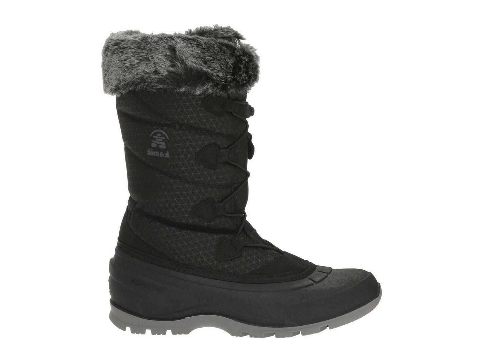 Kamik Women's Momentum2 Insulated Boot Black