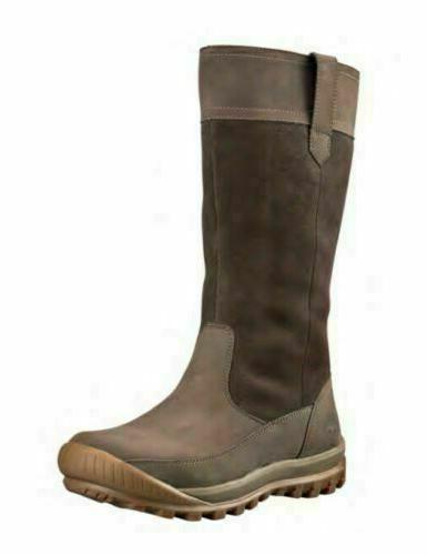Timberland Women's MT Hayes Dark Brown Pull On Waterproof Sn