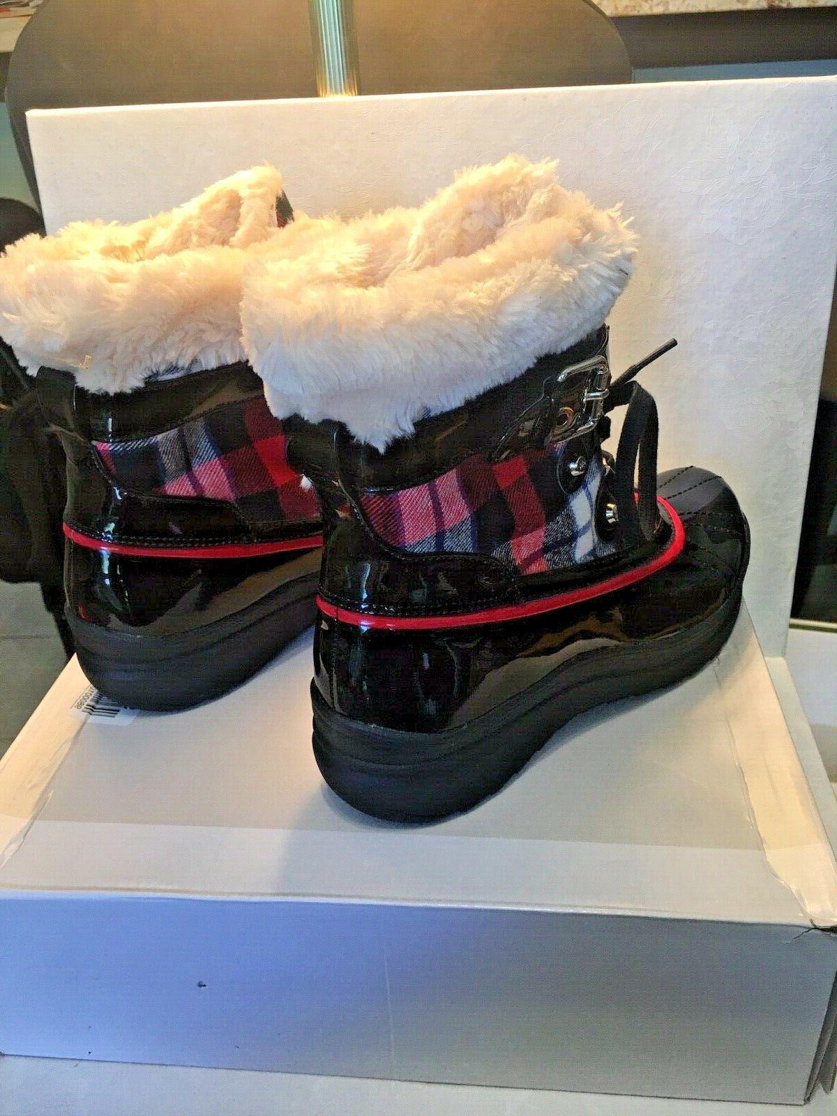 Anne Klein women's new black/red snow/rain size