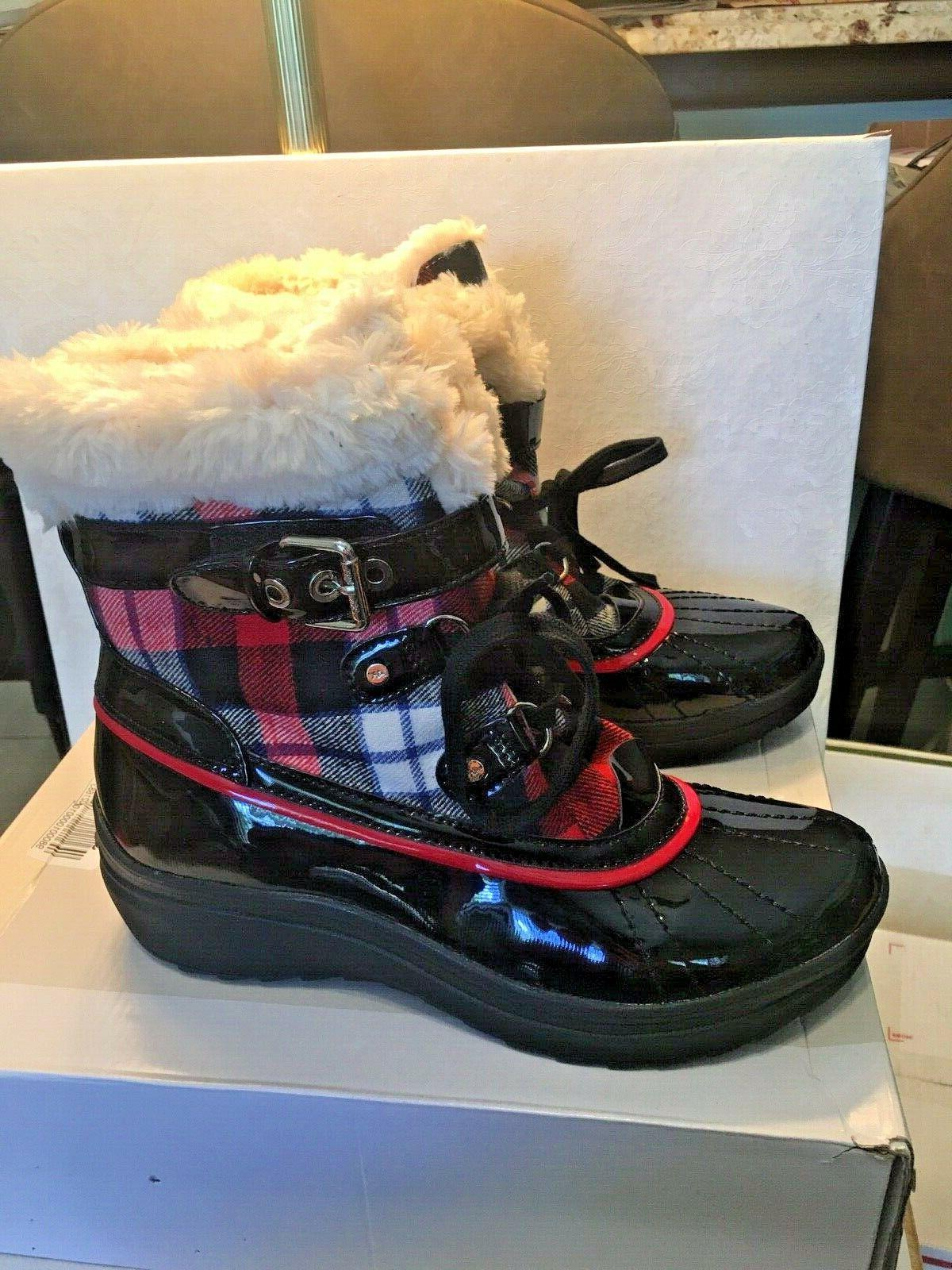 Anne women's new black/red size 10