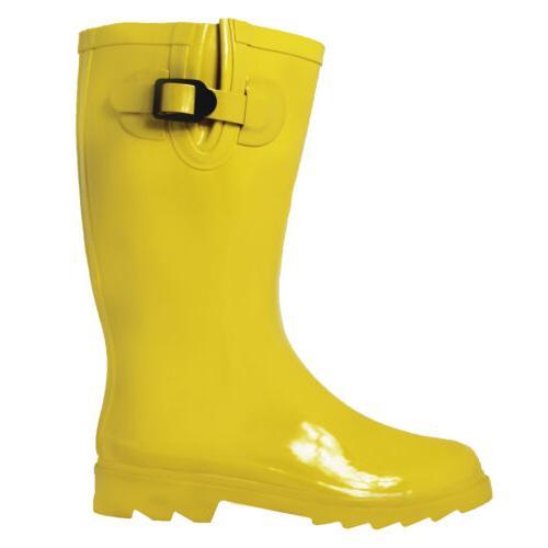 OwnShoe Women's Rain Snow Boots Assorted Calf