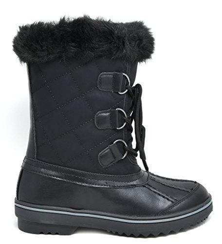 DREAM PAIRS Black Snow Size M