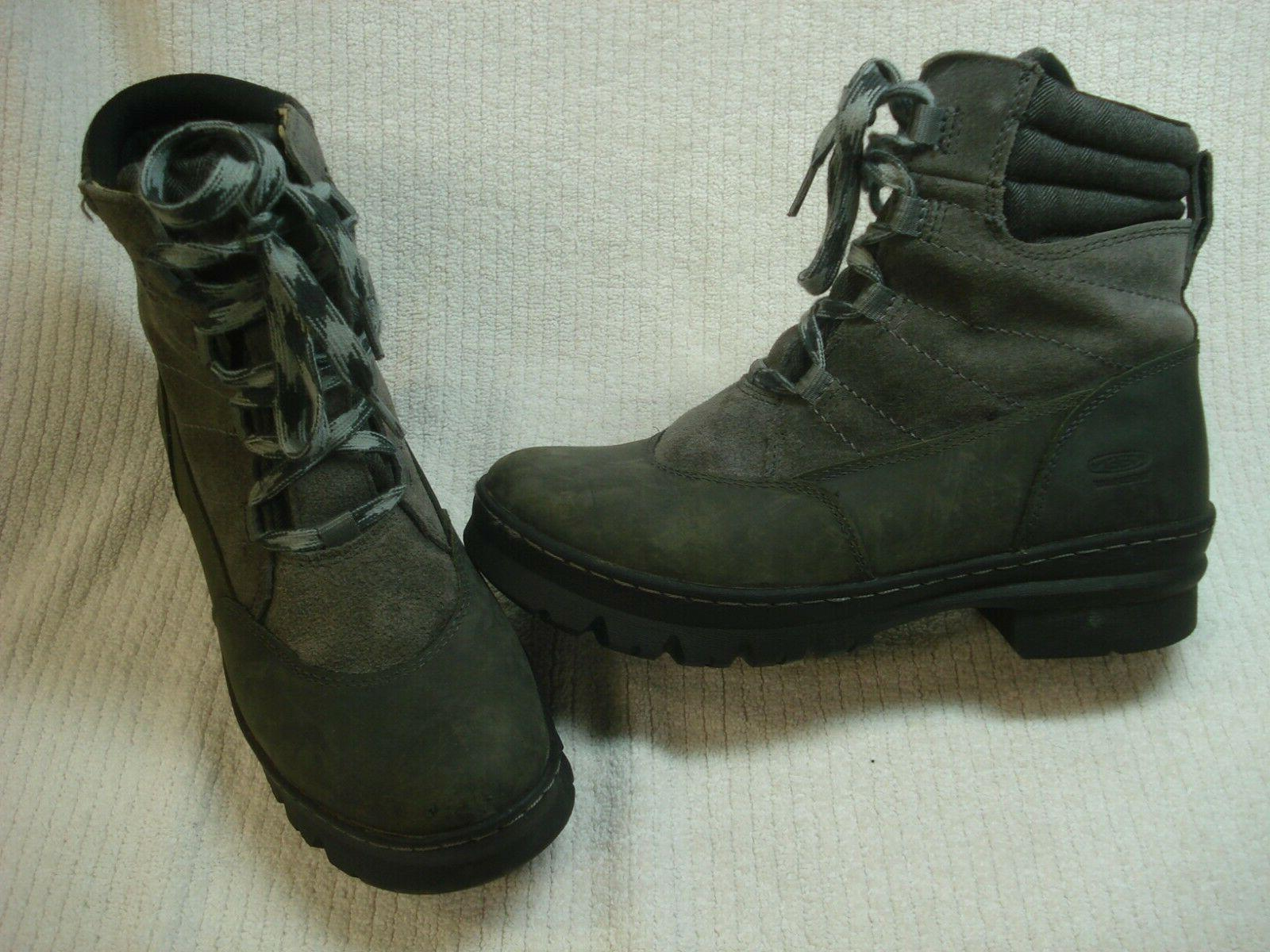 Women's Keen Wapato waterproof winter snow boots size 8.5 gray