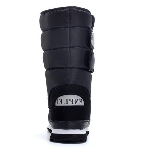 DADAWEN Waterproof Frosty Snow Boot US Size 8