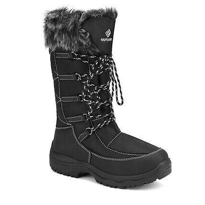 Women Weather Mid Full Fur Snow